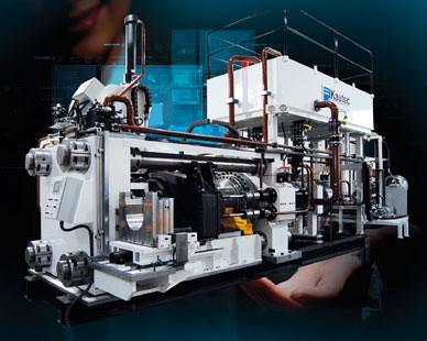 Máquinas para Extrusão de Aluminio