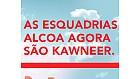 As Esquadrias Alcoa agora são Kawneer