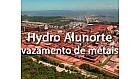 Vazamento de metais em Barcarena Pará