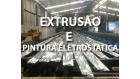 Pintura Eletrostática e Extrusão de Alumínio