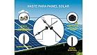 Haste para Painel Solar Ludufix