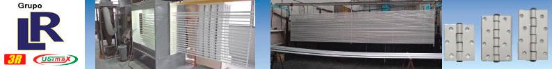 Grupo LR - Pintura Eletrostática em Alumínio