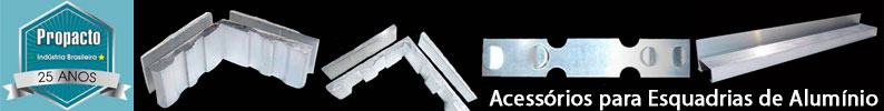 Propacto - Chumbadores para Esquadrias de Alumínio