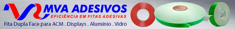 MVA ADESIVOS - Fitas Adesivas para Painéis de Alumínio
