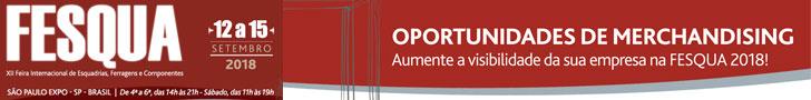 FESQUA | Feira Internacional de Esquadrias, Ferragens e Componentes