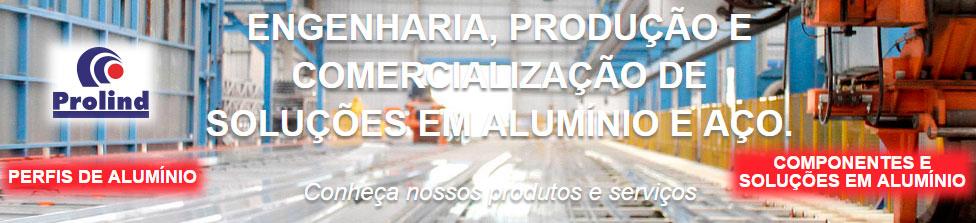 Perfis, Componentes e Soluções em Alumínio